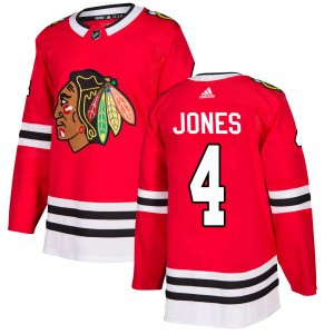 Youth Adidas Chicago Blackhawks Seth Jones Red Home Jersey - Authentic